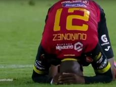 Deportivo Cuenca doblegó a Mushuc Runa. Captura