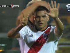 Quintero se acordó de Mora. Captura/FoxSports