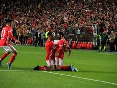 Rafa Silva se lesionó en la Champions. SLBenfica