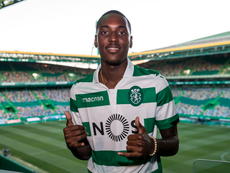 Rafael Camacho is wanted by Everton. Twitter/Sporting_CP