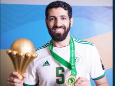 Rafik Halliche ha jugado 39 partidos con Argelia. CAF_Online
