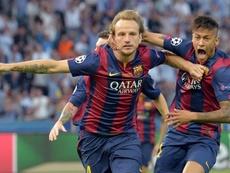 Rakitic potrebbe essere la contropartita per l'arrivo di Neymar. EFE