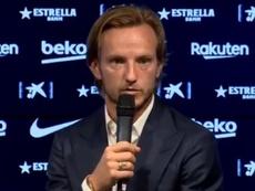 Rakitic said goodbye to Barcelona. Twitter/FCBarcelona