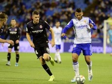Granada want to sign Suárez. Twitter/RealZaragoza