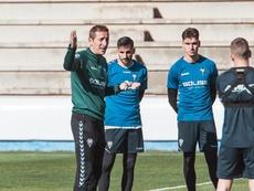 Ramis cree que el Albacete ha mejorado considerablemente. Twitter/AlbaceteBPSAD