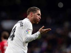 Ramos will miss Madrid's clash with Leganes. EFE