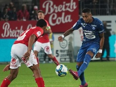 Rennes want the result of the game against Brest to be declared void. Twitter/staderennais