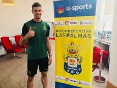 Raúl Fernández dice adiós a la temporada. Twitter/UDLP_Oficial