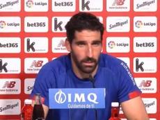 Raúl García pidió dar un paso más al Athletic fuera de San Mamés. Captura/AthleticClub