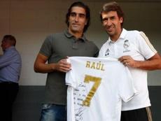 Raúl homenajeó a Zazo, ex canterano con problemas cardíacos
