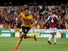 Raúl Jiménez siente devoción por las 'Águilas'. Twitter/Wolverhampton