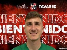 Raúl Tavares se suma a la medular de La Nucía. Twitter/cfnucia