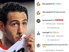 El fichaje de Parejo por el Villarreal ha dejado multitud de reacciones. Captura/dani_parejo10