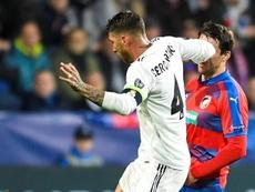 Ramos a envoyé un message d'excuse. EFE