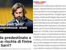 El empate con el Benevento le hizo daño. GazzettaDelloSport/Panorama/CorriereDelloSport