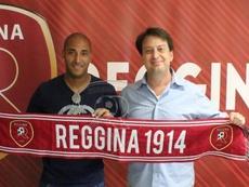 La Reggina anunció el fichaje de Reginaldo. Reggina1914