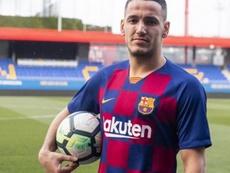 Rey Manaj fichó por el Barcelona B y podría debutar con el primer equipo en días. FCBarcelonaB