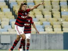 Flamengo quiere renovar a Reinier y espantar al Madrid. Captura/Flamengo