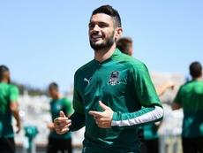 Rémy Cabella indisponible six mois pour une blessure à un genou. AFP