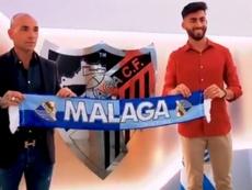 El Málaga ha renovado a Juande. Twitter/MalagaCF