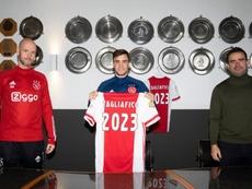 El Ajax ha renovado a Tagliafico hasta 2023. Twitter/AFCAjax