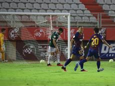 El gol del empate fue de Manaj. RFEF