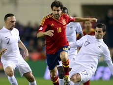 Fàbregas rememoró el ambiente del Mundial de 2010. AFP