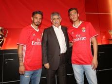 Ricardo Araújo e Ricardo Mangas, dos Juniores Benfica, prolongam contratos. Twitter @SLBenfica