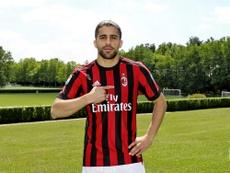 Ricardo Rodríguez estaría muy cerca de dejar el Milan. ACMilan/Archivo