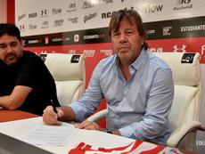 Zielinski, nuevo entrenador de Estudiantes. EstudiantesLaPlata