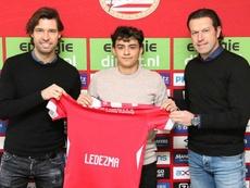 Ledezma es entrenado por Van Nistelrooy. Twitter/PSV