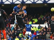 El Everton desarboló al Chelsea. Twitter/Everton