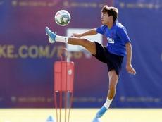 Riqui Puig podría salir cedido. Twitter/FCBarcelona