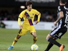 Riqui Puig no tiene sitio en el primer equipo. FCBarcelona