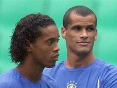 Rivaldo desveló el secreto del gol de Ronaldinho a Inglaterra en 2002. EFE