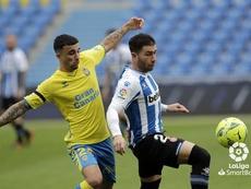 Las Palmas le ganó al Espanyol. LaLiga