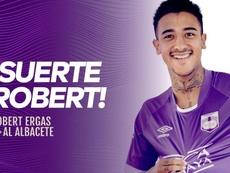 Robert Ergas puede ser fichaje oficial del Albacete pronto. Twitter/DefensorSp