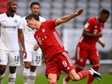 Bundesliga top scorers 20-21. EFE