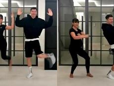 Lewandowski e sua esposa quebram o TikTok com uma divertida dança. TikTok/annalewandowska