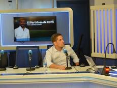 Robert Moreno analizó la actualidad de España y LaLiga. Twitter/partidazocope
