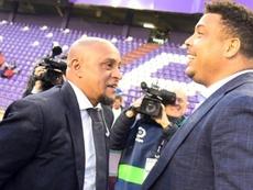 Roberto Carlos, clave en el resurgir del Castilla. Twitter/LaLiga