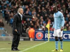 Mancini sacó lo mejor de Balotelli en el City. EFE