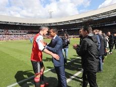 Van Persie apuesta por una liga conjunta de Países Bajos y Bélgica. Feyenoord