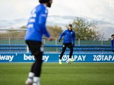 Rodrigo Ely acaba de salir de una lesión muscular