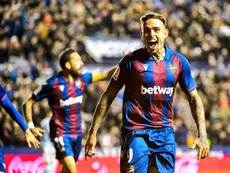 Barca enquired about him. Twitter/LevanteUD