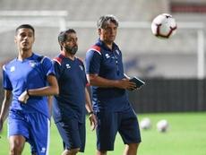 Romeo Jozak, destituido como seleccionador de Kuwait. Twitter/KuwaitFA