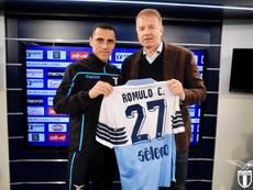 La Lazio se quiere quedar a Romulo. SSLazio