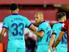 Pourquoi Braithwaite n'a pas célébré ? FCBarcelona