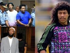 Ronaldinho, Trabelsi e Higuita, três ex-jogadores foram presos EFE/AFP/Wikipedia