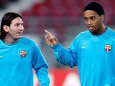 VIDEO: Ronaldinho and Messi, the most skillful Barça players. EFE